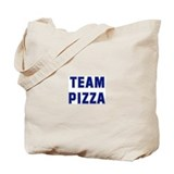 Team PIZZA Tote Bag