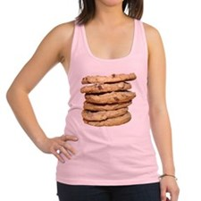 Home Made Chocolate Chip Cookie Racerback Tank Top