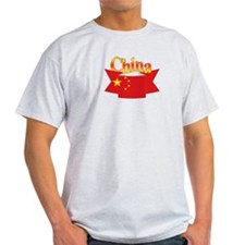 China flag ribbon T-Shirt