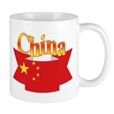 China flag ribbon Coffee Mug