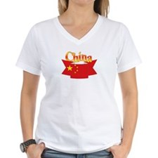 China flag ribbon Shirt