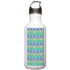 airplane curtain Water Bottle