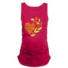 Quilting Heart Maternity Tank Top