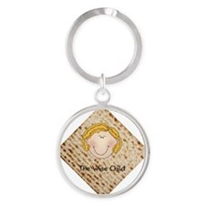 Wise Child - Girl Round Keychain