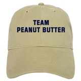 Team PEANUT BUTTER Baseball Cap