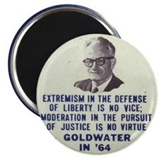 Goldwater button Magnet