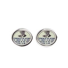 Goldwater button Cufflinks