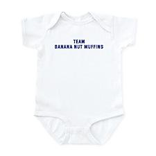 Team BANANA NUT MUFFINS Infant Bodysuit