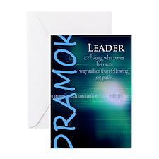 Dramok Greeting Card