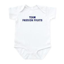 Team PASSION FRUITS Infant Bodysuit