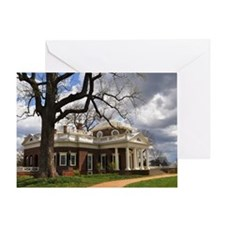 Monticello 12X18 Greeting Card