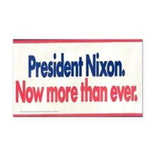 Nixon Reelection Rectangle Car Magnet