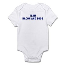 Team BACON AND EGGS Infant Bodysuit