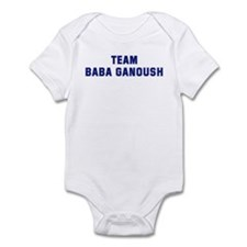 Team BABA GANOUSH Infant Bodysuit