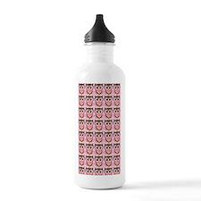 Valentine owl iphone 3 Water Bottle