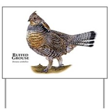 Ruffed Grouse Yard Sign