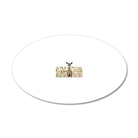 Licky Lou 20x12 Oval Wall Decal