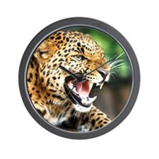 Beautiful Leopard Wall Clock