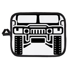 Hummer/Humvee illustration Potholder