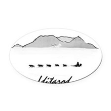 Iditarod Oval Car Magnet