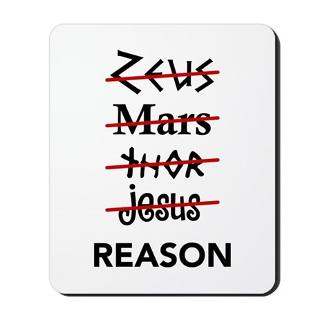 Zeus to Reason Mousepad