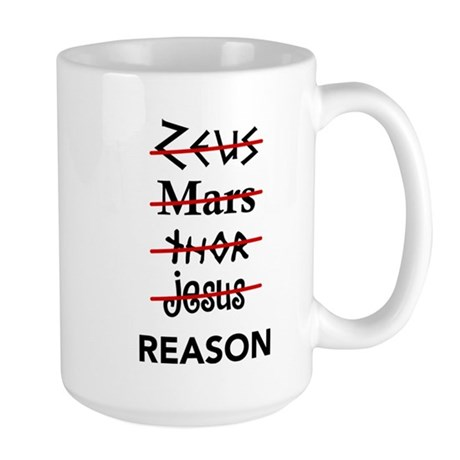 Zeus to Reason Large Mug