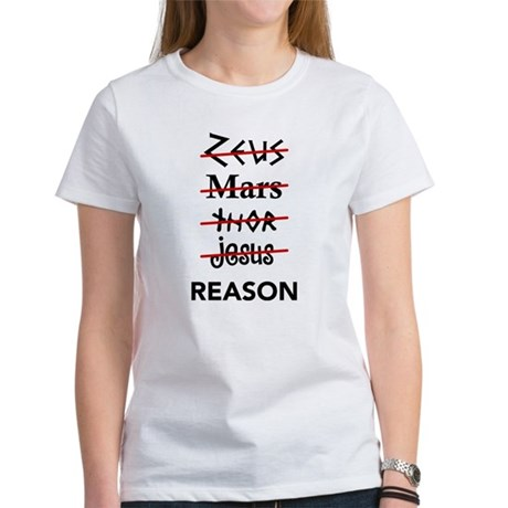 Zeus to Reason Women's T-Shirt