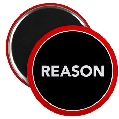 "Reason 2.25"" Magnet (10 pack)"