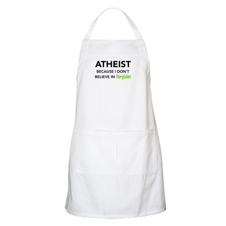 Atheist vs. Fairytales BBQ Apron