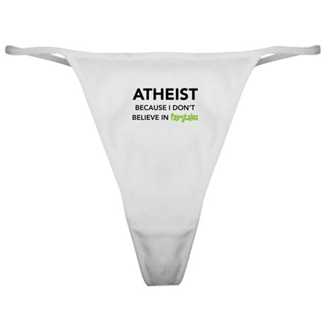 Atheist vs. Fairytales Classic Thong