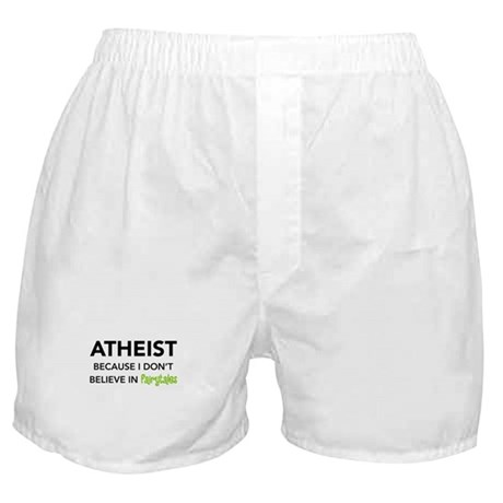 Atheist vs. Fairytales Boxer Shorts