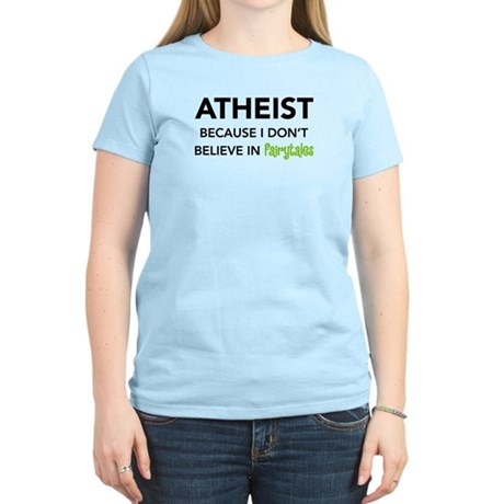 Atheist vs. Fairytales Women's Light T-Shirt