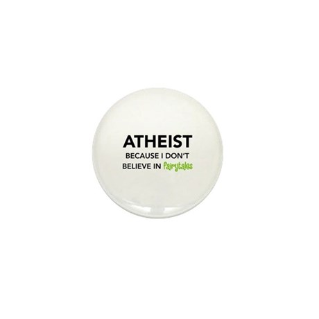 Atheist vs. Fairytales Mini Button (10 pack)
