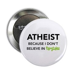"Atheist vs. Fairytales 2.25"" Button (10 pack)"