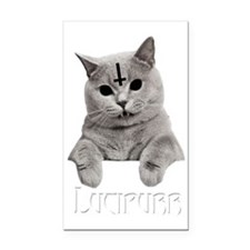 LUCIPURR Rectangle Car Magnet