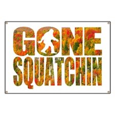 Gone Squatchin *Fall Foliage Forest Edition Banner