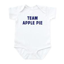 Team APPLE PIE Infant Bodysuit