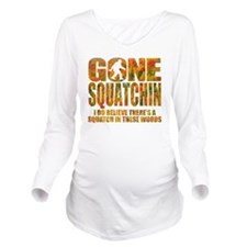 Gone Squatchin *Fall Long Sleeve Maternity T-Shirt