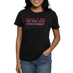 When I Die- Dog Women's Dark T-Shirt