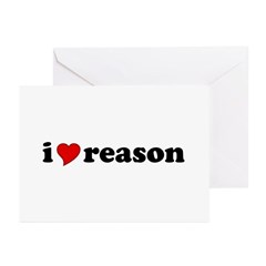 I Love Reason Greeting Cards (Pk of 10)