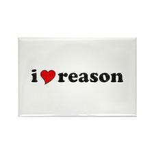 I Love Reason Rectangle Magnet (10 pack)