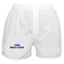 Team MAPLE SYRUP Boxer Shorts