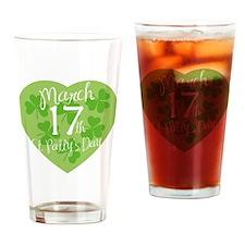 stPatricksDesign17C Drinking Glass
