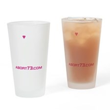 Love Lets Live (white letters) Drinking Glass