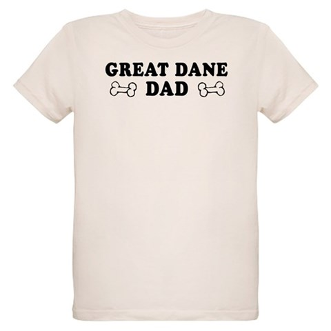 Great Dane Dad Ash Grey T-Shirt