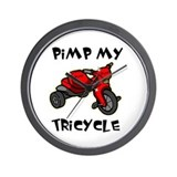 Pimp My Tricycle Wall Clock