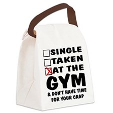 wht_Single_Taken_At_Gym Canvas Lunch Bag
