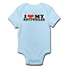 IHeartRott.jpg Infant Bodysuit