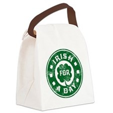 Irish for a day shamrock Canvas Lunch Bag