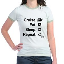 Cruise. Eat. Sleep. T